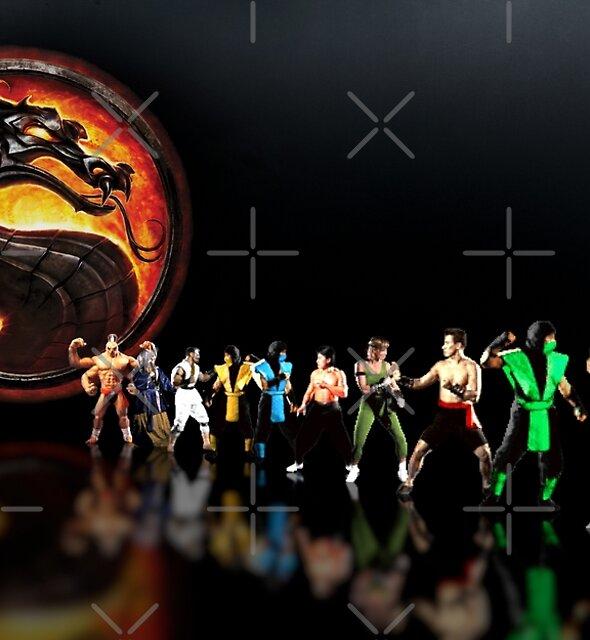 Mortal Kombat pixel art by smurfted