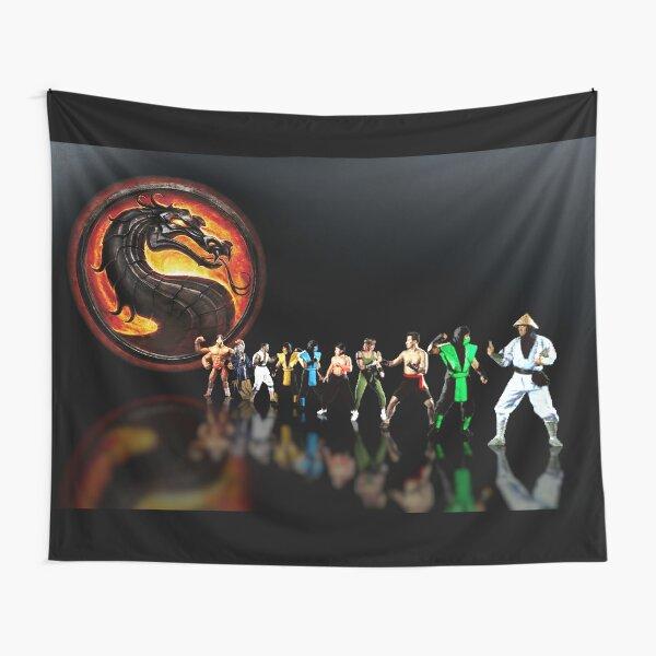 Mortal Kombat pixel art Tapestry