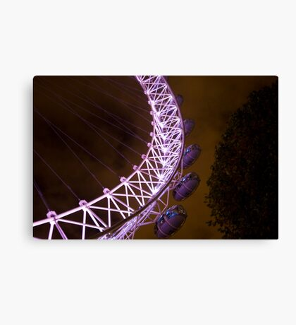 Eye of the Night Canvas Print