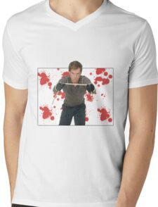Dexter Morgan Mens V-Neck T-Shirt