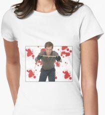 Dexter Morgan Womens Fitted T-Shirt