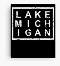 Stylish Lake Michigan Canvas Print