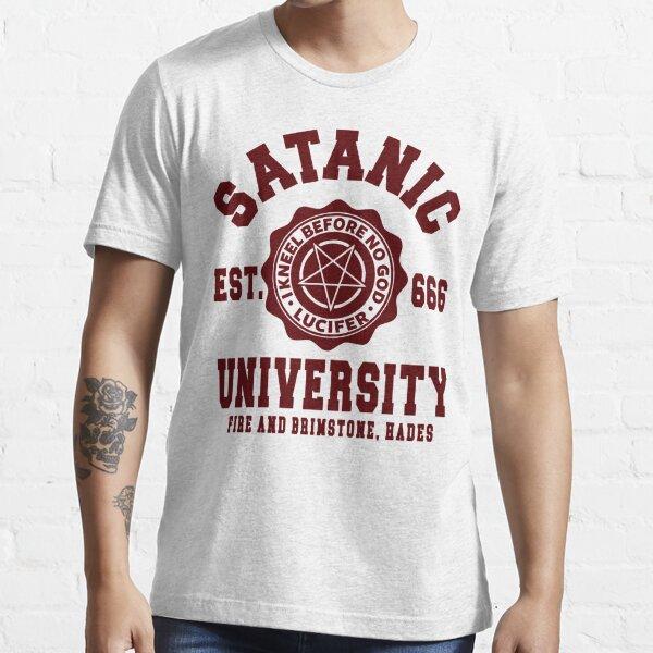 SATANIC UNIVERSITY - SATANISM OCCULT Essential T-Shirt