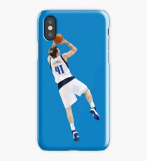Dirk Nowitzki Fadeaway iPhone Case