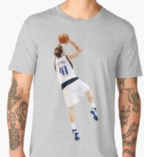 Dirk Nowitzki Fadeaway Men's Premium T-Shirt