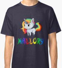 Mallory Unicorn Classic T-Shirt