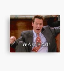 Chandler friends  Canvas Print