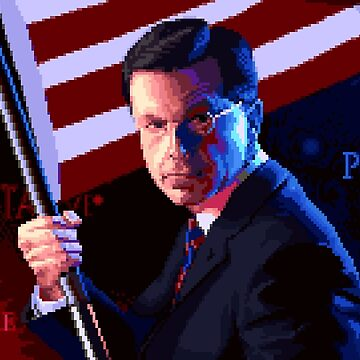 The Patriot (Stephen Colbert pixel art) by philstrahl
