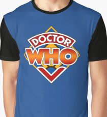 Doctor who Classic Logo 1 Graphic T-Shirt