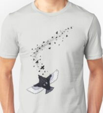 A Murmuration of Starlings Unisex T-Shirt