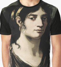 Young Faces from the past Series by Adam Asar, No 122 Graphic T-Shirt