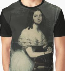 Young Faces from the past Series by Adam Asar, No 123 Graphic T-Shirt