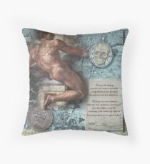 The Measure of All Things Throw Pillow