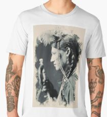Young Faces from the past Series by Adam Asar, No 127 Men's Premium T-Shirt