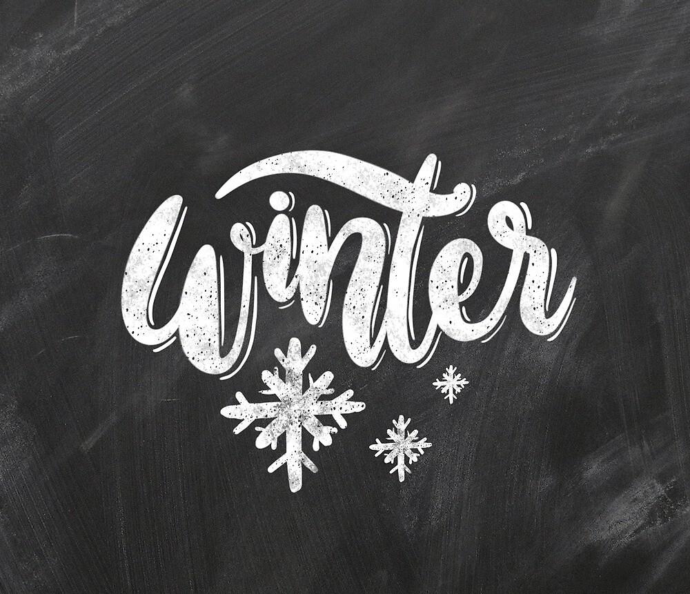 Winter magic by Miruna Illustration