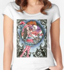 Aelita - Halloween Witch Women's Fitted Scoop T-Shirt