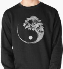 Yin Yang Bonsai Tree Japanese Buddhist Zen Pullover Sweatshirt