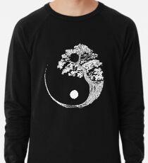 Yin Yang Bonsai-Baum Japanischer buddhistischer Zen Leichtes Sweatshirt