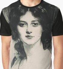 Young Faces from the past Series by Adam Asar, No 138 Graphic T-Shirt