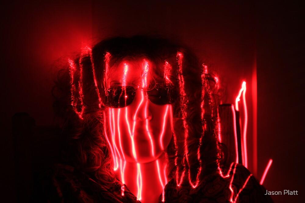 laser painting by Jason Platt