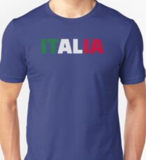 Italia flag Unisex T-Shirt