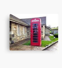 UK Telephone Booth Canvas Print