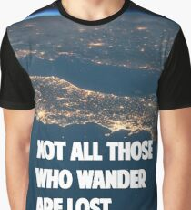 Traveller's quote Graphic T-Shirt