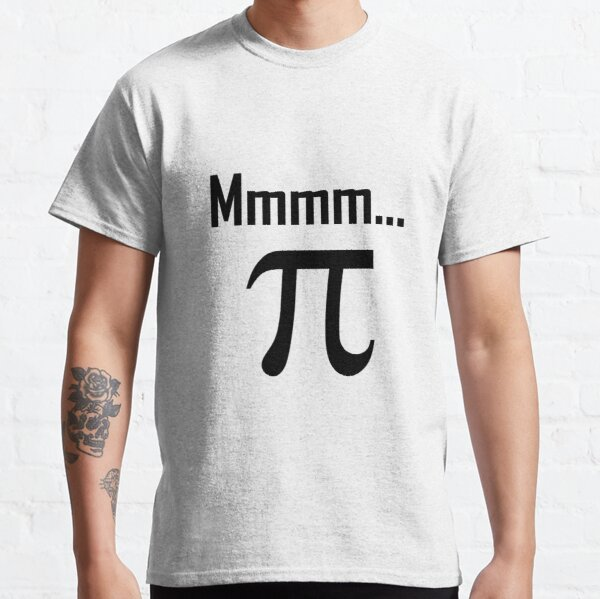 Mathematical Novelty Ratio Fun Themed Mens T-Shirt Maths I LOVE PI