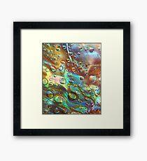 Abalone Blues Framed Print