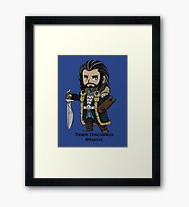 Majestic Thorin Oakenshield Framed Print
