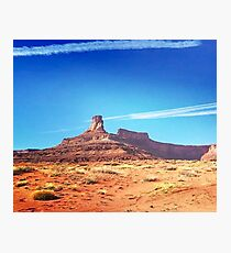 Desert Dreaming About Red Rocks  Photographic Print