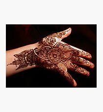 Floral Henna No2 Fotodruck