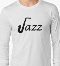 Jazz Saxophone Long Sleeve T-Shirt