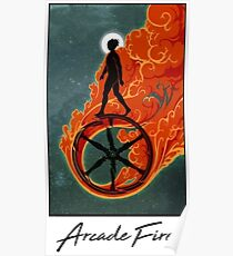 Arcade Fire Wheel Poster