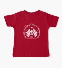 Nakatomi Corporation's Annual Christmas Party 1988 (aged look) Baby Tee