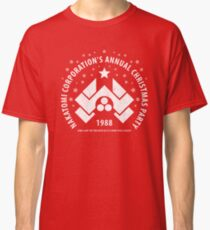 Nakatomi Corporation's Annual Christmas Party 1988 (aged look) Classic T-Shirt