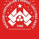 Nakatomi Corporation's Annual Christmas Party 1988 (aged look) by KRDesign