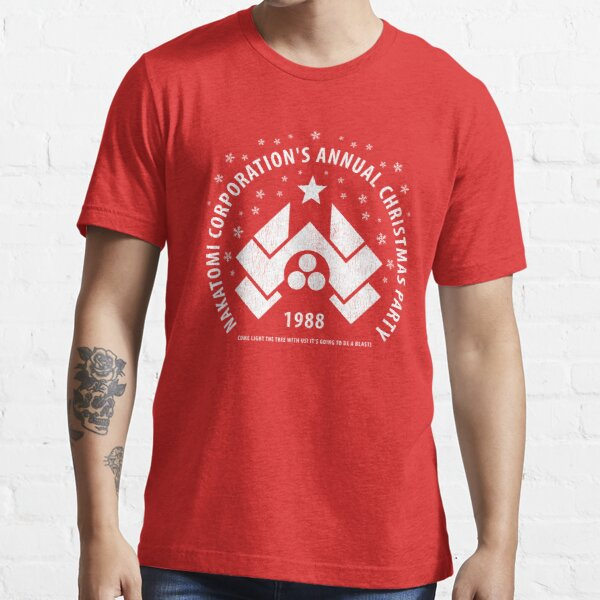 Nakatomi Corporation's Annual Christmas Party 1988 (aged look) Essential T-Shirt