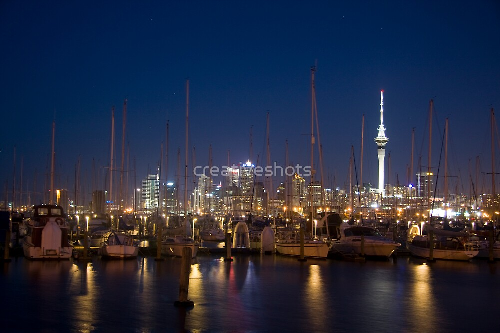 Auckland Westhaven Marina by creativeshots