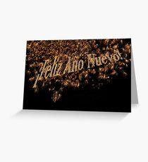 ¡Feliz Año Nuevo! cards invitations posters Greeting Card