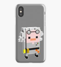 Doc Brown Back to The Future iPhone Case/Skin