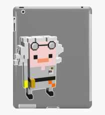 Doc Brown Back to The Future iPad Case/Skin