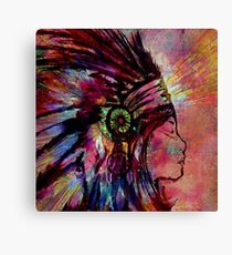 Medicine Woman Canvas Print