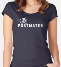 Postmates LT120 New Product Women's Fitted Scoop T-Shirt