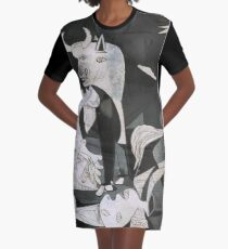Guernica Graphic T-Shirt Dress