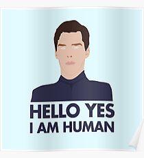 Alien Cumberbatch Meme Poster