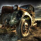 Retired Trucker by Ben Pacificar
