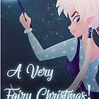 Merry Christmas! Fairy of the Lights by mlmillustration