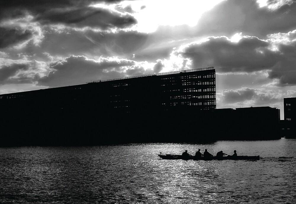 Afternoon, Bryggen, Copenhagen. by Mirabela