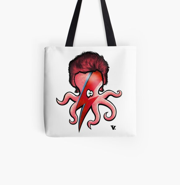 Octopin Sane All Over Print Tote Bag